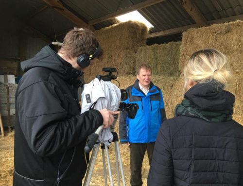 Innovatieve landbouw Krimpenerwaard op TV